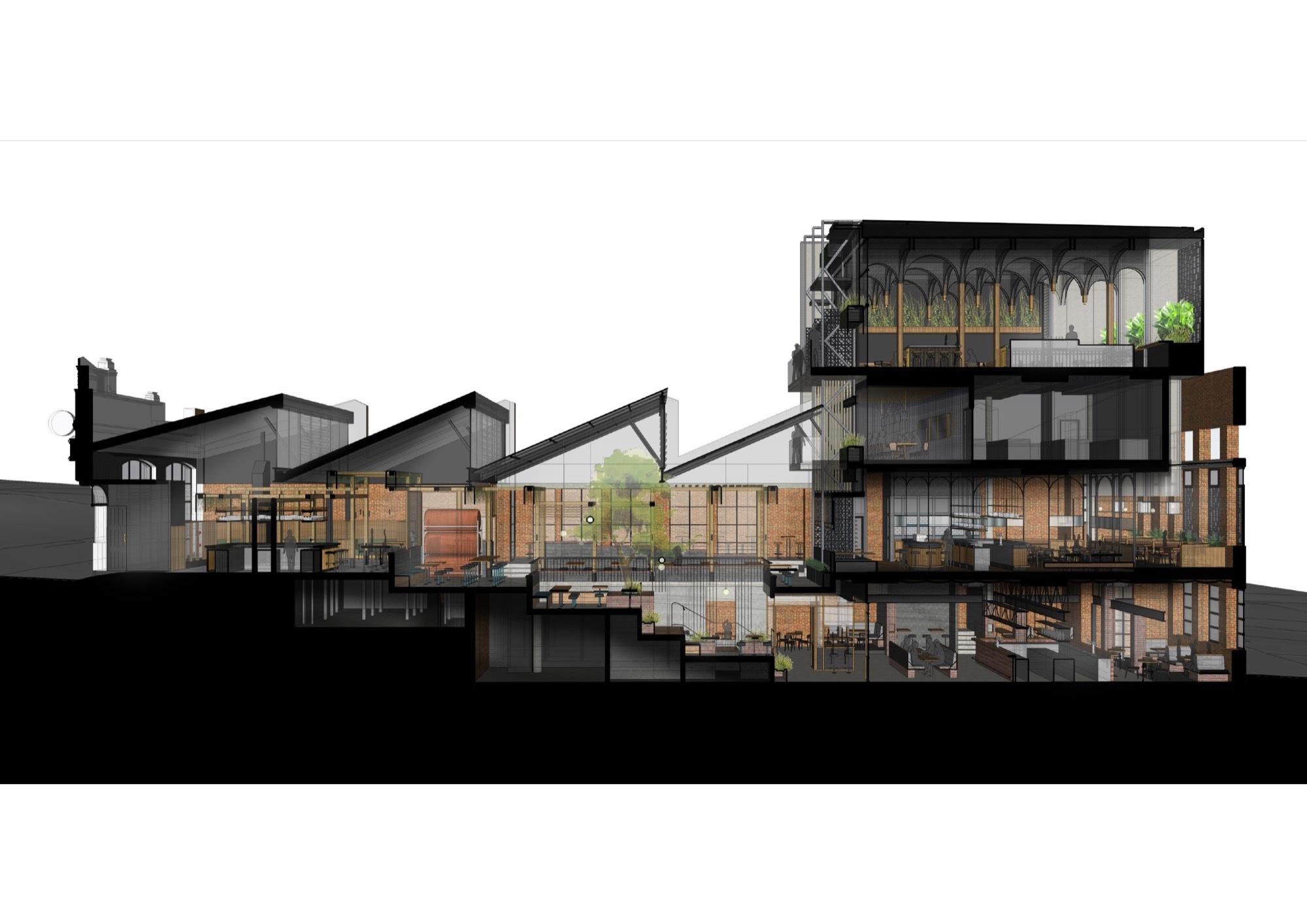 Organize Ideas Gallery Of Garden State Hotel Techne Architecture