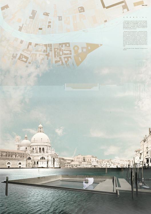 Estudiantes de España, Uruguay y Chile entre los ganadores del concurso Island of Arts de Venecia, Primer Lugar / IOA 1157. Image Cortesía de Arquideas
