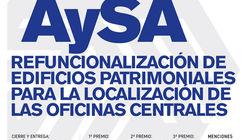 Concurso Nacional de Anteproyectos: Refuncionalización de edificios patrimoniales para localización de oficinas centrales de AySA en Argentina