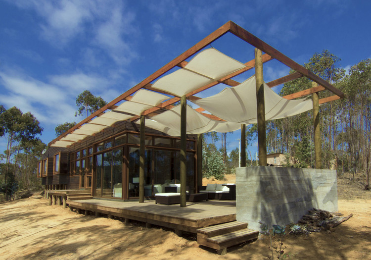 Vivienda Unifamiliar Tunquén / CO2 Arquitectos © Productora AndesEmpire