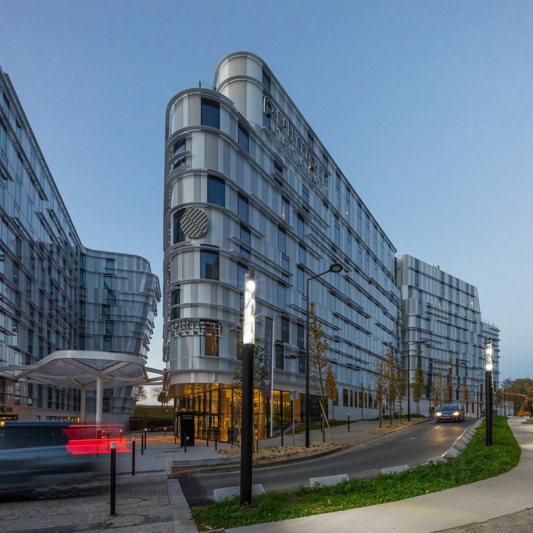 Hoteles Accor / Arte Charpentier Architectes, © Christophe Valtin