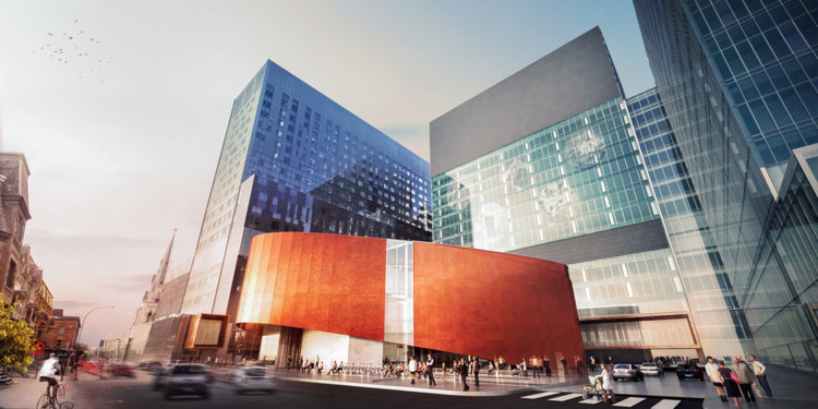 Montreal's Three-Million-Square-Foot Hospital to Become Largest Healthcare Project in North America, Courtesy of CannonDesign + NEUF Architect(e)s