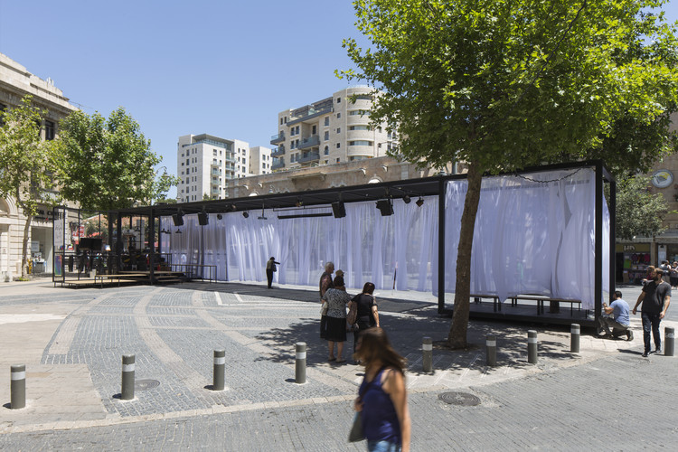 Bezalel Academy of Art and Design Students Build Temporary Pavilion in Jerusalem, Image © Elad Sarig, Courtesy of The Architecture Department, Bezalel academy of Art and Design, Jerusalem