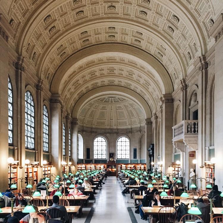 Boston Public Library. Image © Olivier Martel Savoie, @une_olive