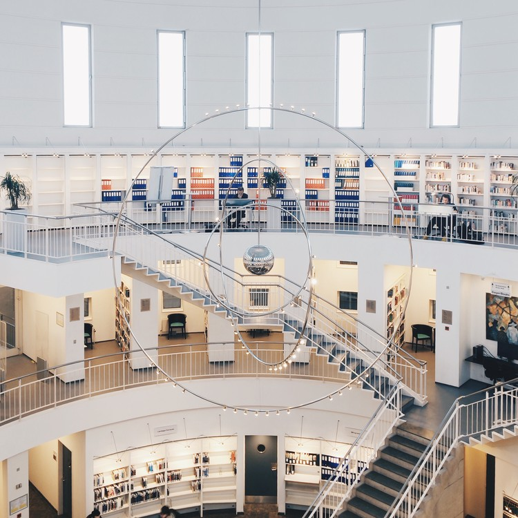 DTU Ballerup Library, Denmark. Image © Olivier Martel Savoie, @une_olive
