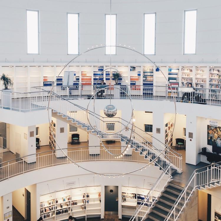 Biblioteca DTU Ballerup, Dinamarca. Imagen © Olivier Martel Savoie, @une_olive