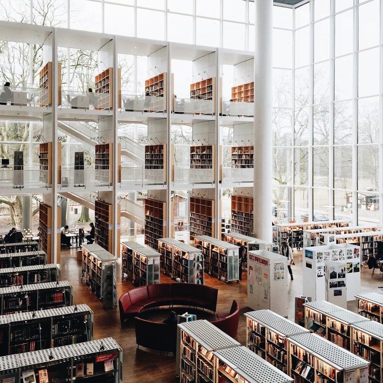 Biblioteca de la ciudad de Malmö. Imagen © Olivier Martel Savoie, @une_olive