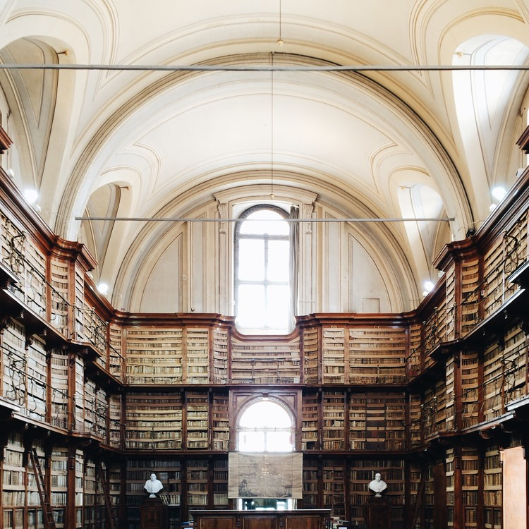 Angelica Library, Rome. Image © Olivier Martel Savoie, @une_olive