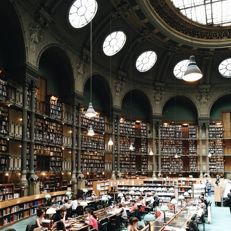 Richelieu-Louvois Library, Paris. Image © Olivier Martel Savoie, @une_olive