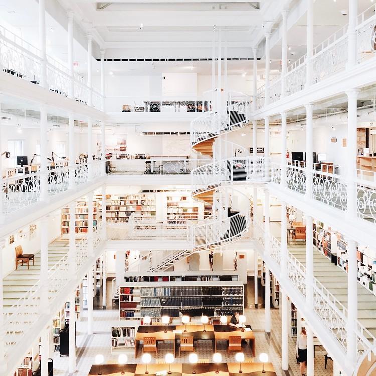 National Library and Archives of Québec, Montréal. Image © Olivier Martel Savoie, @une_olive