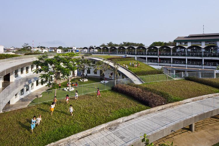 Farming Kindergarten / Vo Trong Nghia Architects. Image © Hiroyuki Oki