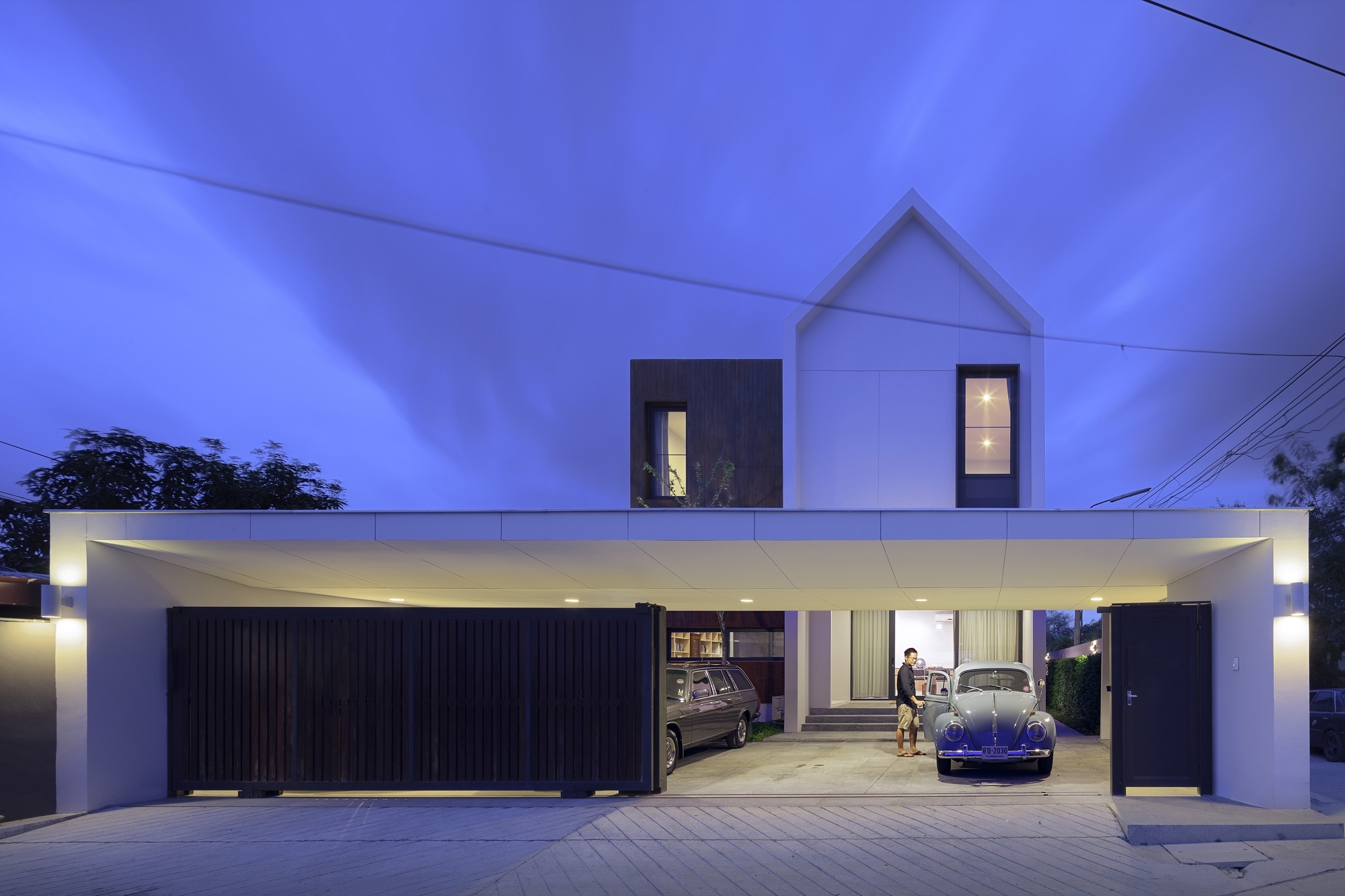 ^ Nawamin 24 House / I Like Design Studio rchDaily
