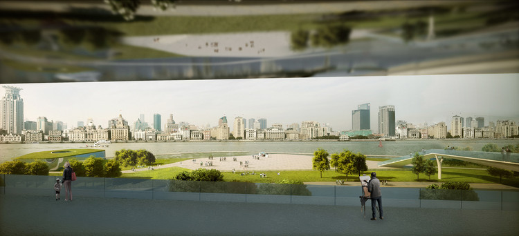 Rendering 05_Bund View from Art Plaza