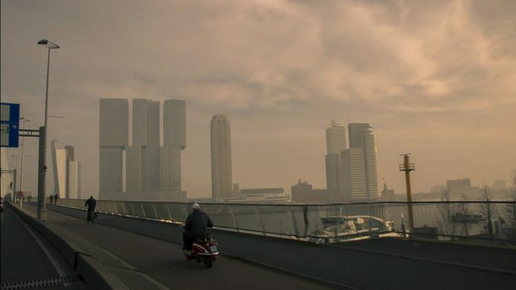 De Rotterdam es el mayor edificio residencial de Europa. Imagen © Tomas Koolhaas