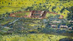 Centro Cultural Casona Quilapilún, el nuevo proyecto de Pezo von Ellrichshausen en Chile