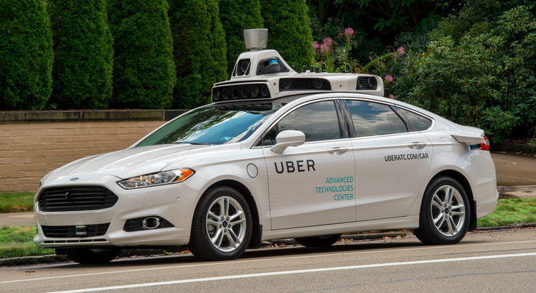 Going Live – Volume #49: Hello World!, A year and a half ago, Uber set up an Advanced Technologies Center (ATC) in Pittsburgh. This month (September 2016) these cars are on the road. Image © Uber