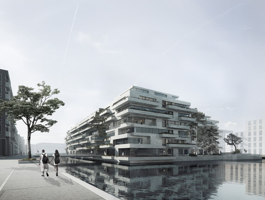 "Brand New Island in Copenhagen Will Act as ""Stepping Stone"" Between Two Neighborhoods"