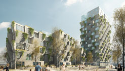 Studio LOKAL Wins Copenhagen Residential Competition With Hanging Gardens Tower