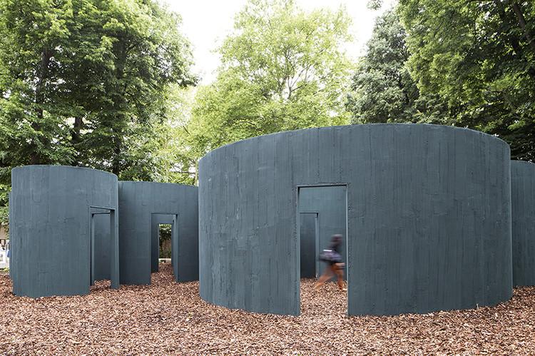 Laberinto circular de Pezo+Von Ellrichshausen, Chile