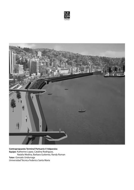 Contrapropuesta terminal portuario II Valparaíso / L01. Image Cortesía de Arquitectura Caliente