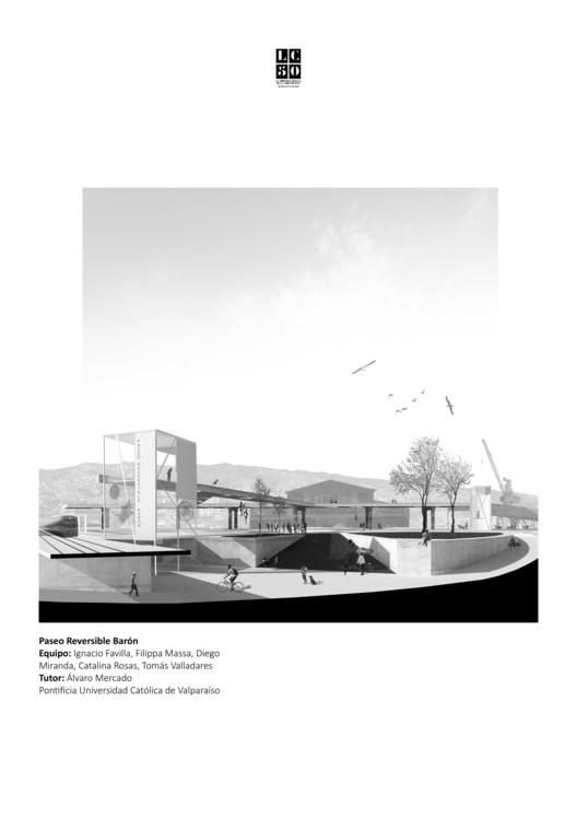 Paseo Reversible Barón / L01. Image Cortesía de Arquitectura Caliente