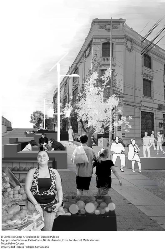 El comercio como articulador del espacio público / L01. Image Cortesía de Arquitectura Caliente