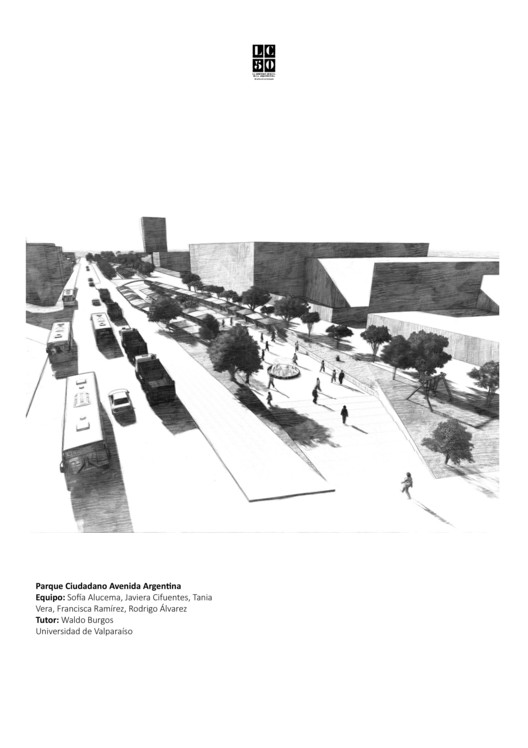 Parque Ciudadano Avenida Argentina / L01. Image Cortesía de Arquitectura Caliente