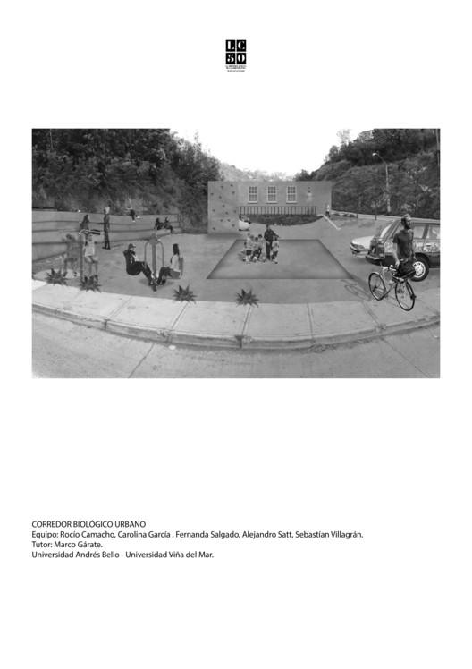Corredor Biológico Urbano / L01. Image Cortesía de Arquitectura Caliente