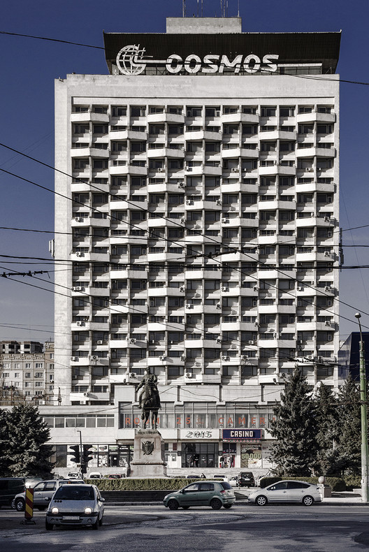 The Cosmos Hotel by B. Banykin and Irina Kolbayeva (1983). Image © Roberto Conte