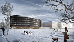 SPOL Architects Receives Approval for Oval-Shaped Hotel Near Oslo Airport