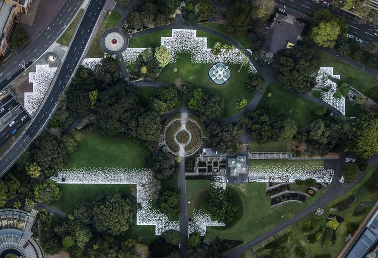 Una instalación de arte en Sydney marca la huella de un desaparecido palacio del siglo 19, Cortesía de Kaldor Public Art Projects