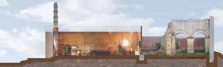 Estudios, diseños e interventoria de obra para la restauración del Templo Doctrinero María Magdalena del Municipio de Tausa. Image Cortesía de SCA