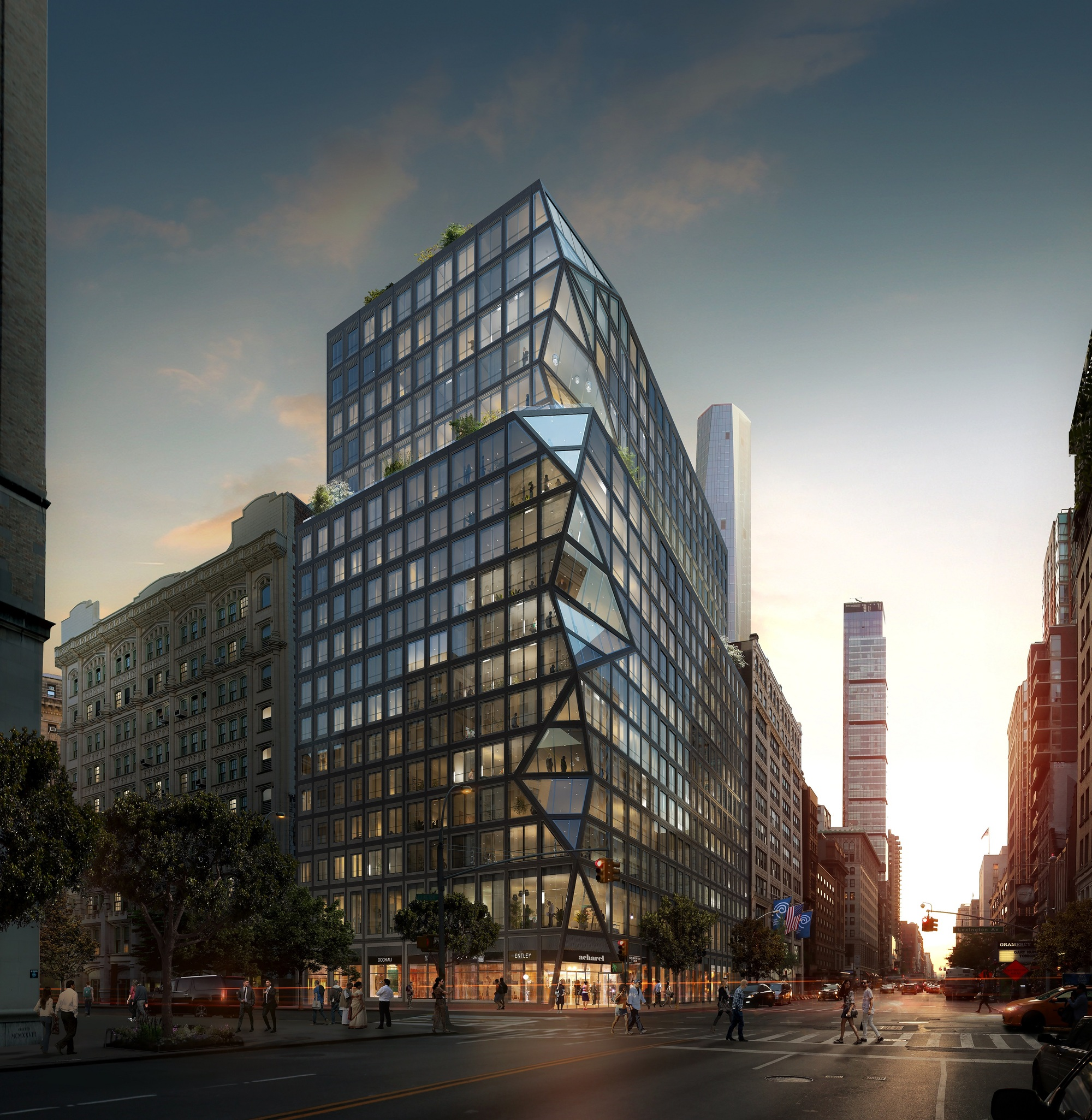 Oma reveals their first residential tower in new york for Architecture new york