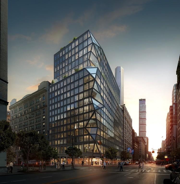 OMA revela su primera torre residencial en Nueva York, © OMA