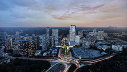Green Urban Park Floating Above a Highway Unifies Buckhead Neighborhood in Atlanta