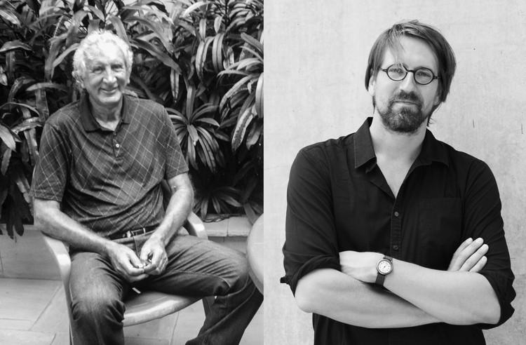 De derecha a izquierda, Raúl Duarte Mungi y Angus Laurie. Image © Fabio Rodríguez