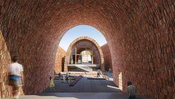 Studio Pei-Zhu diseña un museo abovedado inspirándose en antiguos hornos de cerámica