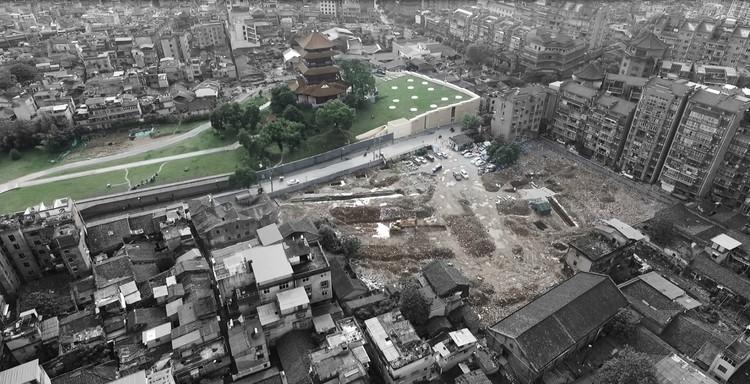 Ubicación del proyecto. Imagen cortesía de Studio Pei-Zhu