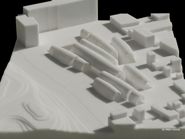 Maqueta conceptual. Imagen cortesía de Studio Pei-Zhu