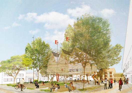 Mary Corilé / Después. Image Cortesía de Ecosistema Urbano