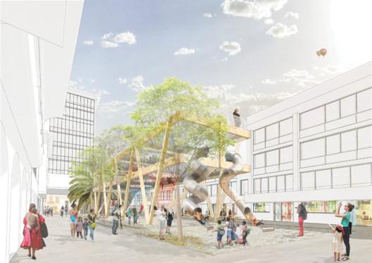 Pedro Tuolop / Después. Image Cortesía de Ecosistema Urbano