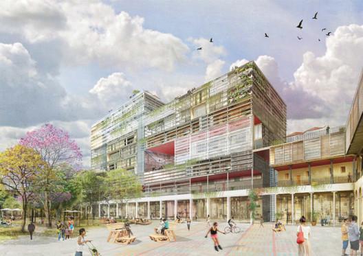 Febres Cordero / Después. Image Cortesía de Ecosistema Urbano