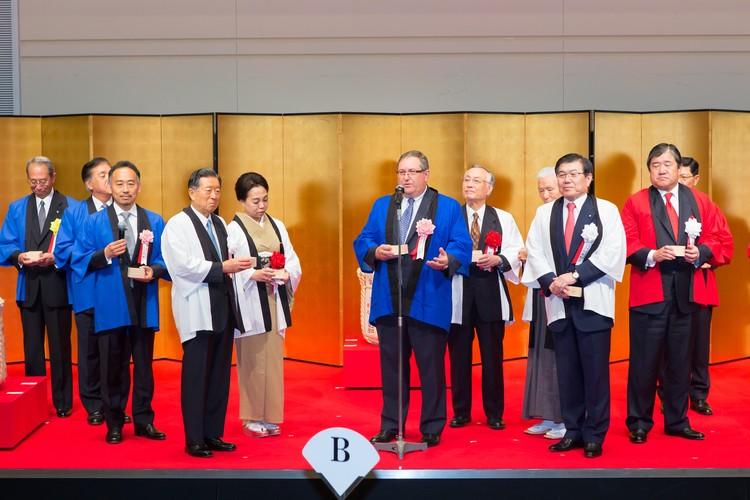 Ceremonia de construcción. Imagen © Mitsui Fudosan | Mitsui & Co.