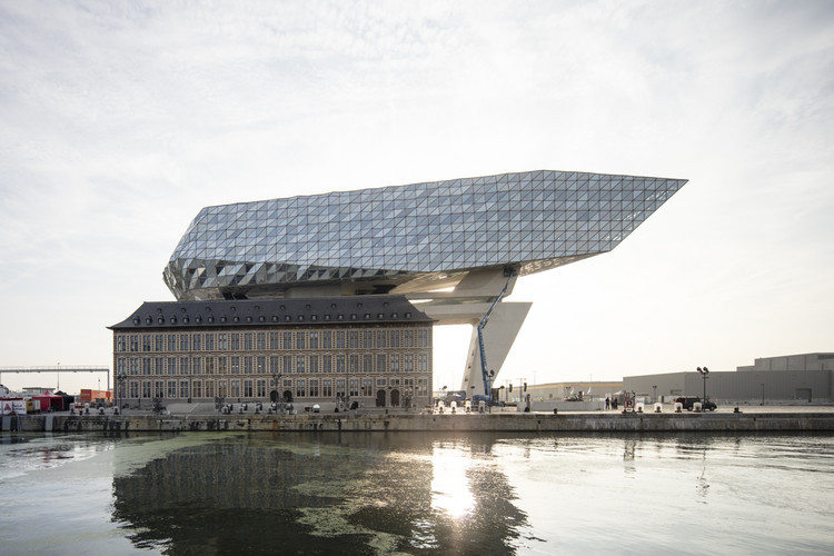 Zaha Hadid Architects' Antwerp Port House Photographed by Laurian Ghinitoiu, © Laurian Ghinitoiu
