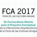 ¡Últimos días para postular! Convocatoria para Proyecto Conceptual de la Intervención Arquitectónica de la Feria de las Culturas Amigas 2017 Cortesía de Unknown