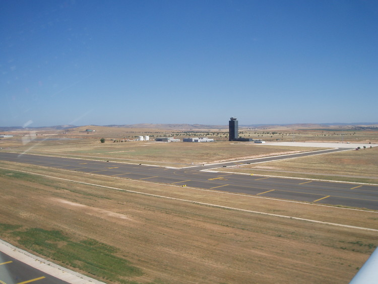 © <a href='https://upload.wikimedia.org/wikipedia/commons/a/a1/Airport_Ciudad_Real_LERL_1.JPG'>Wikimedia user Africa Twin</a> licensed under <a href='https://creativecommons.org/publicdomain/mark/1.0/'>CC BY PDM</a>