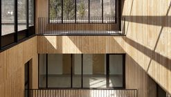 Estación de bomberos en valle Chamonix-Mont Blanc / Studio Gardoni Architectures