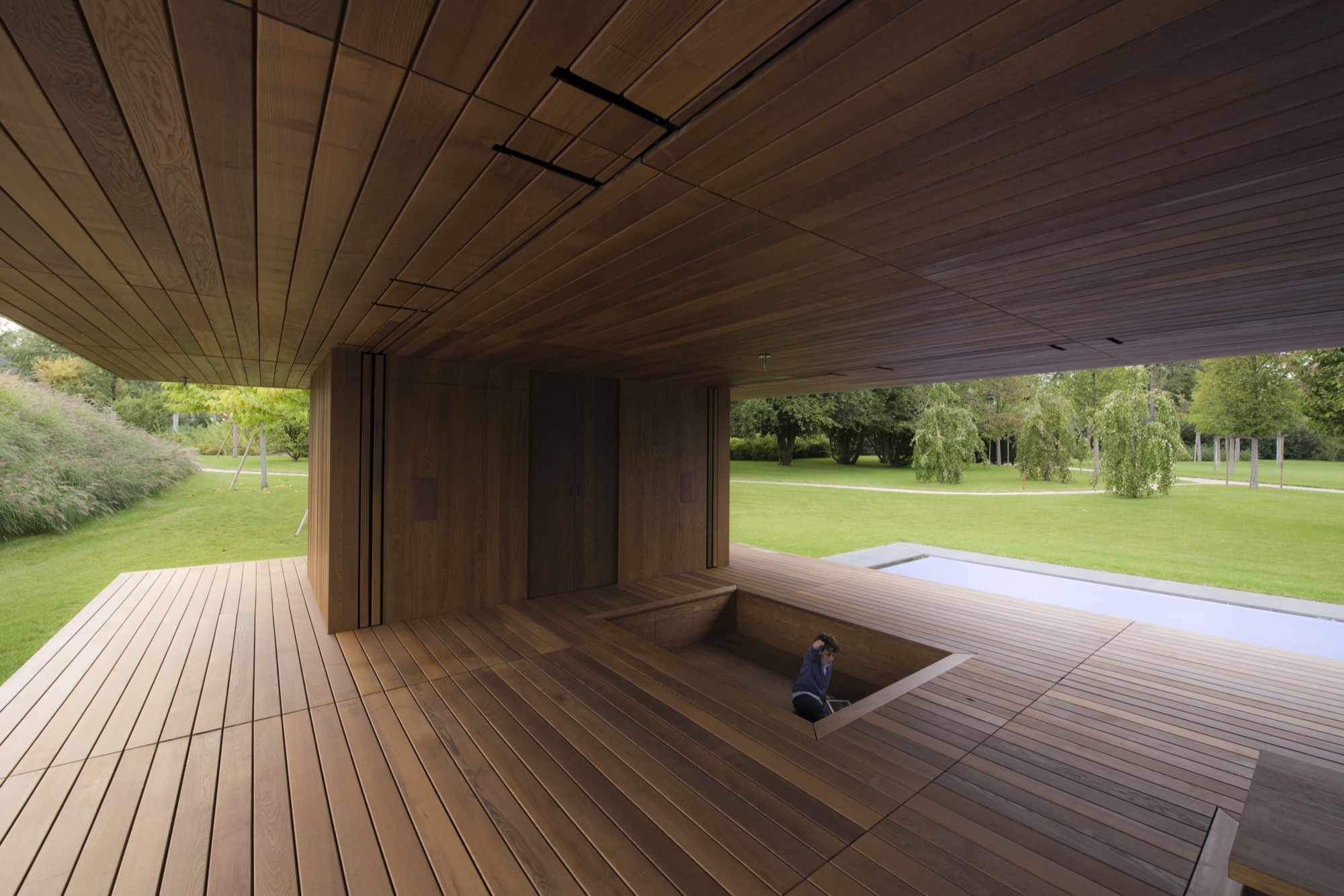 Meditation pavilion garden gmaa archdaily for Garden pavilion designs