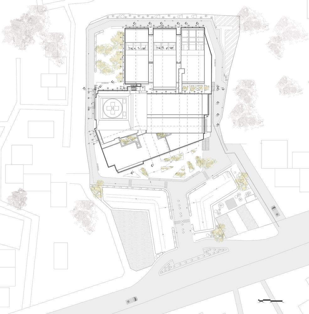 Pars Hospital,Plan