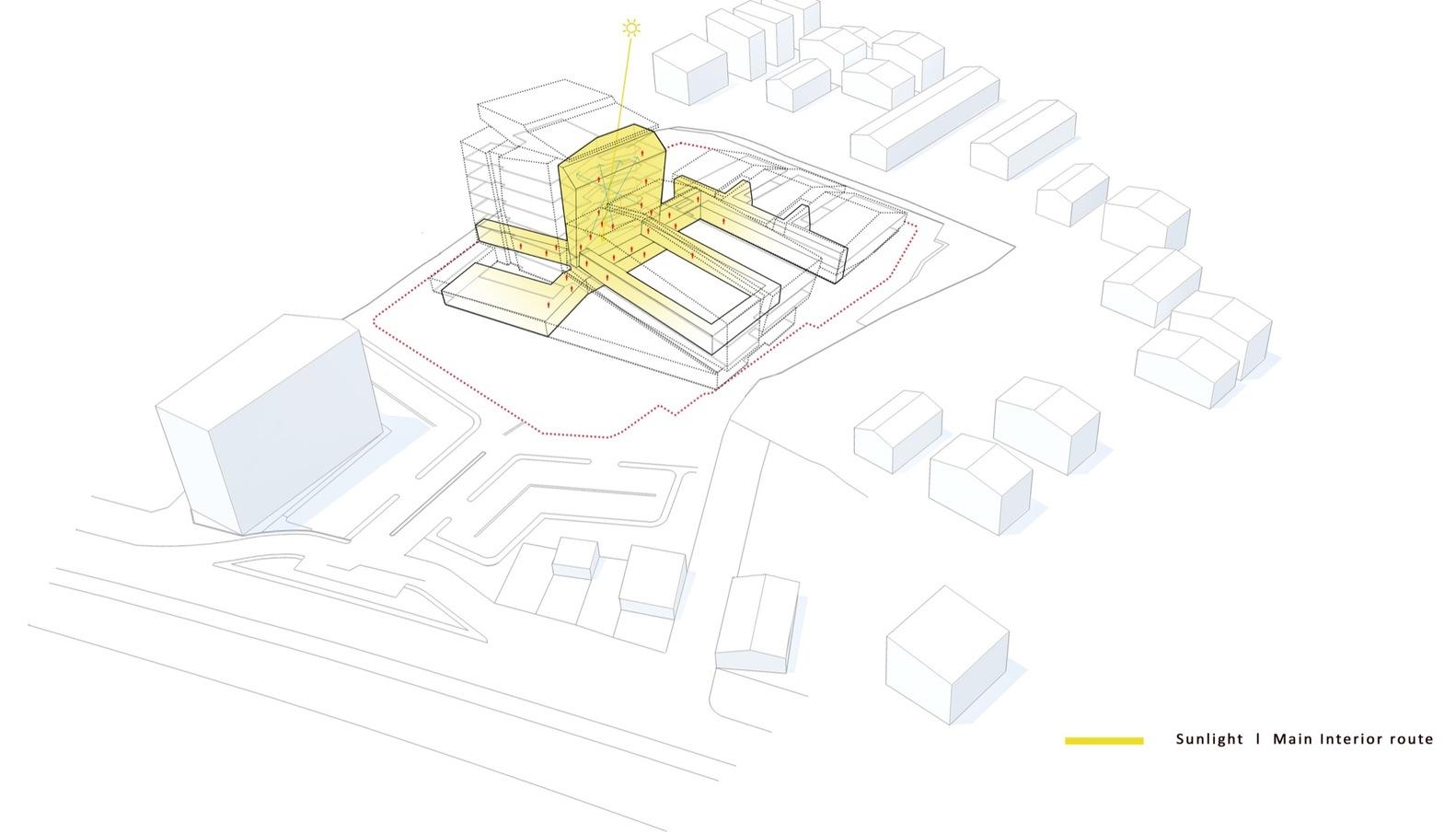 Pars Hospital,Diagram